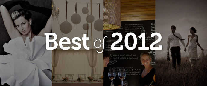 WeddingWise Awards - Best of 2012 - WeddingWise Articles