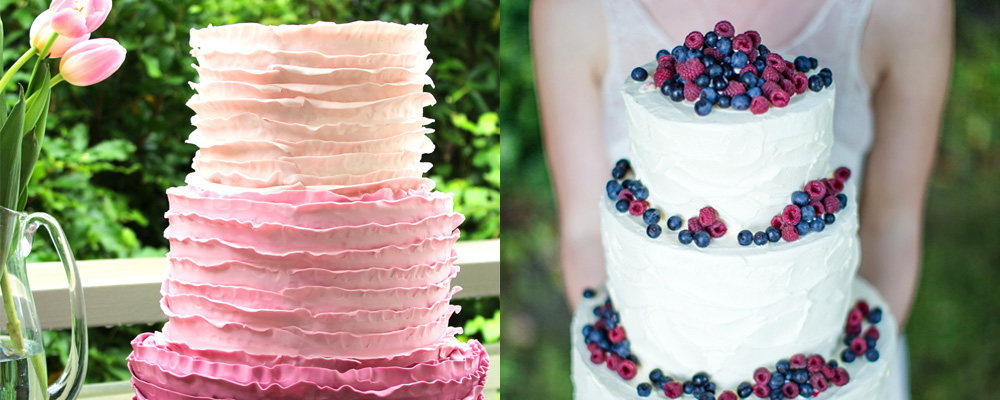 Something Sweet - This Season's Wedding Cake Trends and Advice - WeddingWise Articles