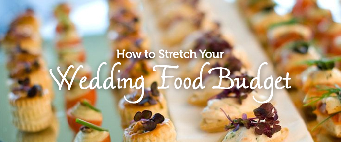 10 ways you can stretch your wedding food budget weddingwise for Wedding canape alternatives