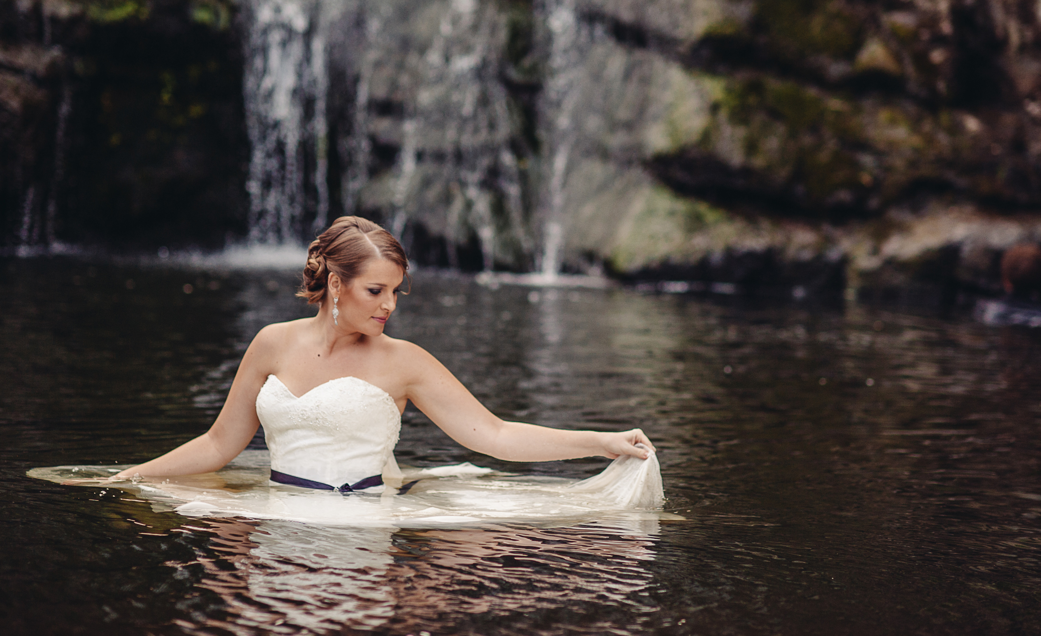 Trash The Dress Makeup Down The Gown Rock The Frock
