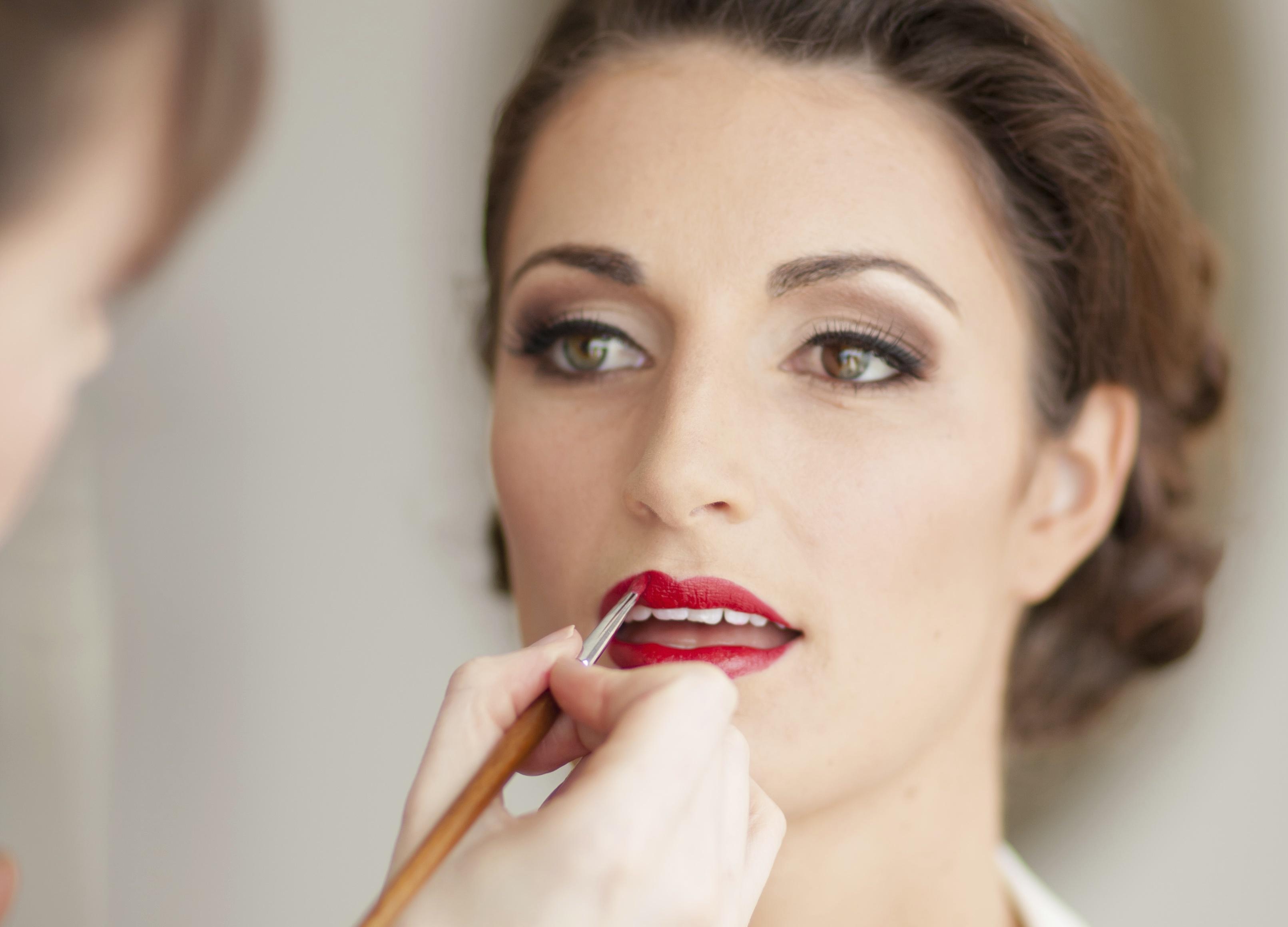 Bridal Makeup Lookbook : Vintage Makeup by LILLYBETH : Lookbook - wedding photo ...