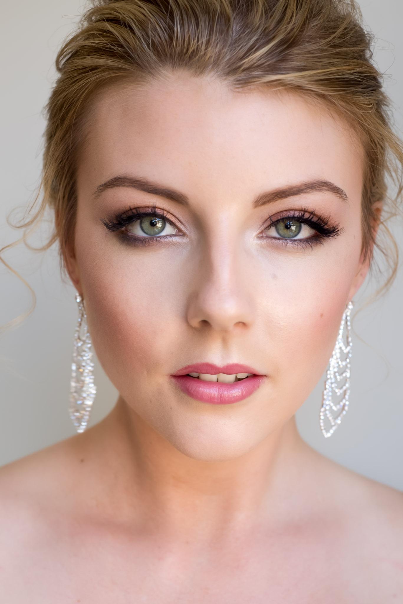 Свадебный макияж фото для зеленых глаз