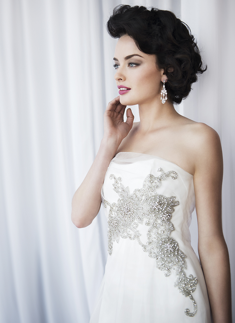 Anna Schimmel, Pearl Bridal Collection: 7240 - WeddingWise Lookbook - wedding photo inspiration