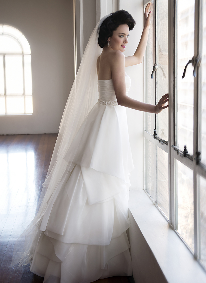 Anna Schimmel, Pearl Bridal Collection: 7248 - WeddingWise Lookbook - wedding photo inspiration