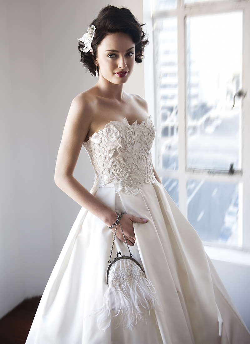 Anna Schimmel, Pearl Bridal Collection: 7253 - WeddingWise Lookbook - wedding photo inspiration