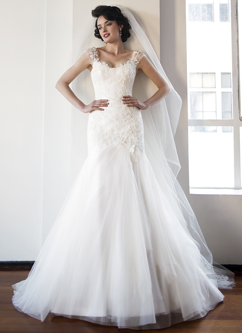 Anna Schimmel, Pearl Bridal Collection: 7247 - WeddingWise Lookbook - wedding photo inspiration
