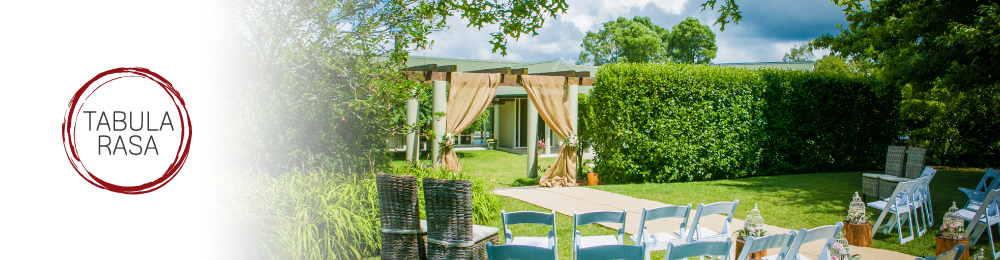 Tabula Rasa Wedding and Event Centre - WeddingWise - NZ's wedding directory
